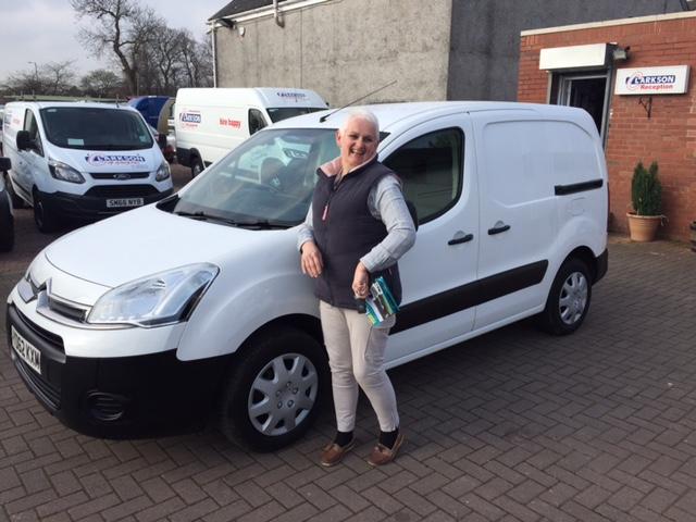 We welcome lady van drivers !