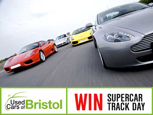Celebrate the summer season in style and enter our FREE COMPETITION to win a Supercar Track Day!
