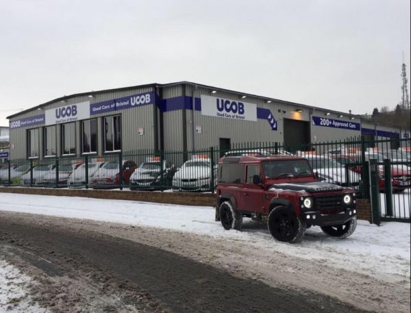 Used Cars of Bristol provide vital transport for NHS staff, carers and elderly stranded by snow storm