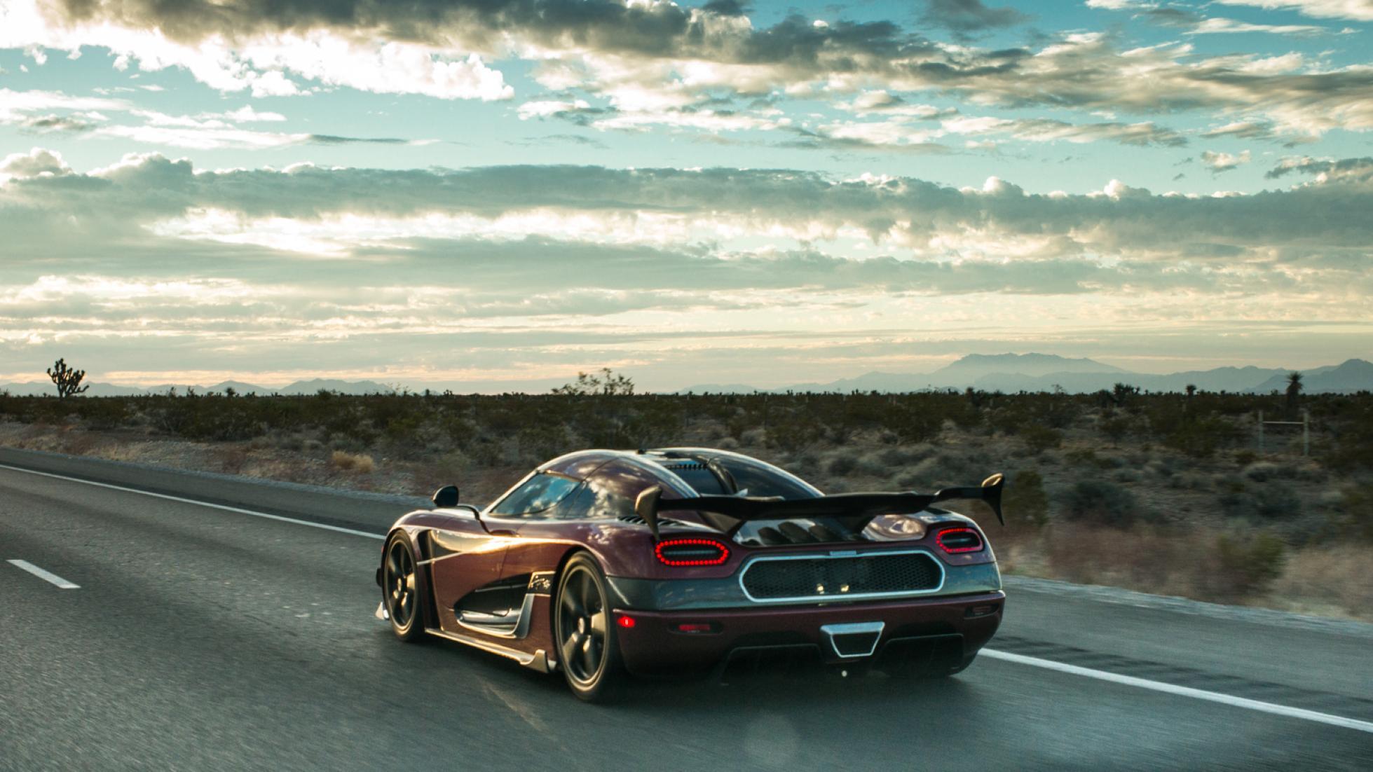 Koenigsegg smash the world's fastest car record!
