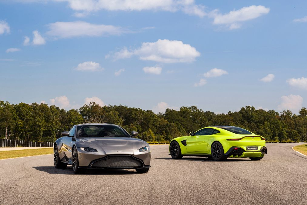 Brand New Aston Martin Vantage!