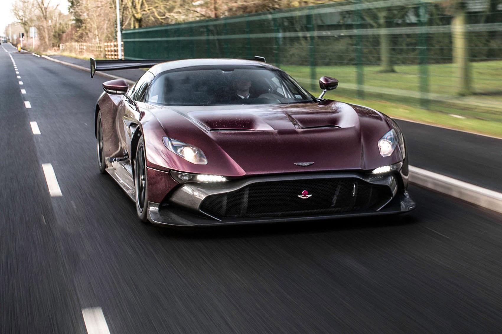 Road Legal Aston Martin Vulcan!
