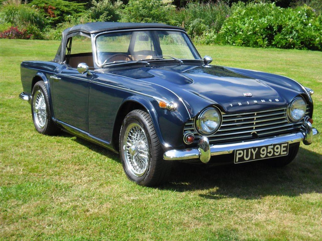 Triumph Tr4 Marlow Buckinghamshire 6452551 (1) - Marlow Cars Ltd