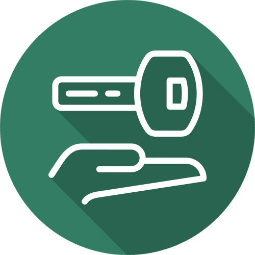 Free local collection & delivery icon