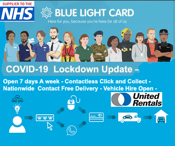 Covid-19 Blue Light Card