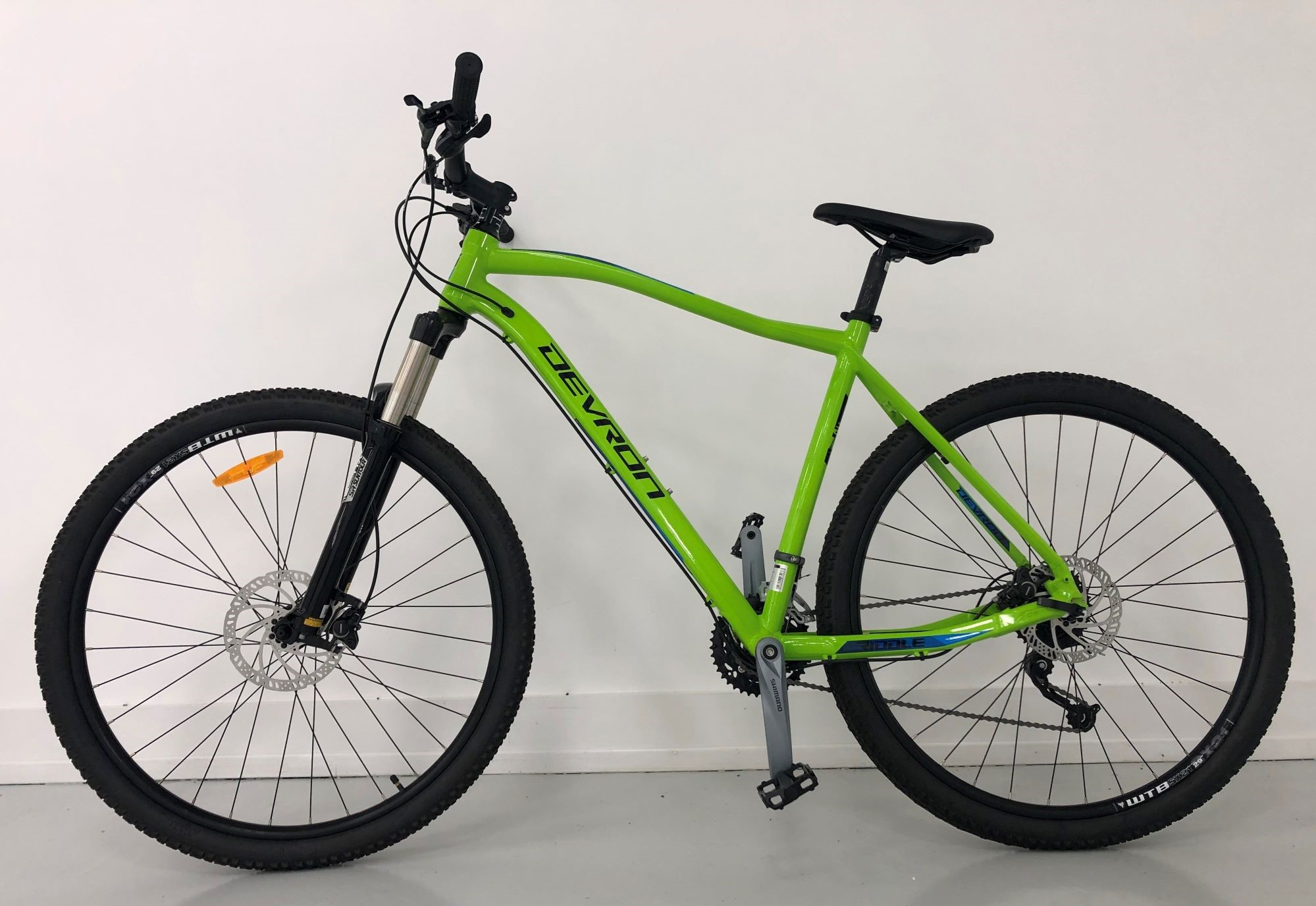 Devron Riddle Mountain Bike 29 Inch Green (2) - County Taunton