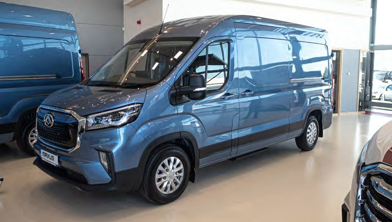 Maxus2 - Chadderton Motor Company