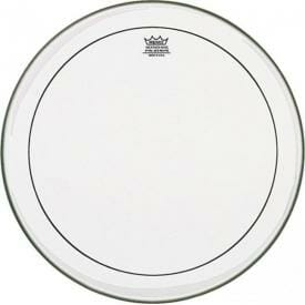 Remo Clear Pinstripe 18 inch Bass Drum Head-0