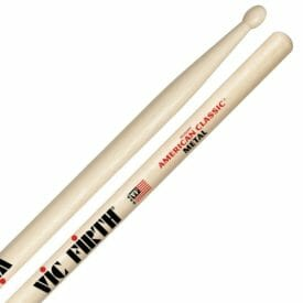 Vic Firth Metal Wood Tip Drum Sticks VF-CM-0