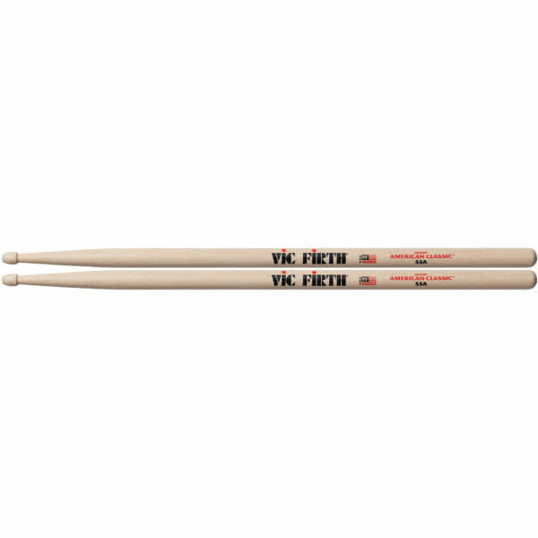 Vic Firth 55A Wood Tip Drum Sticks-0