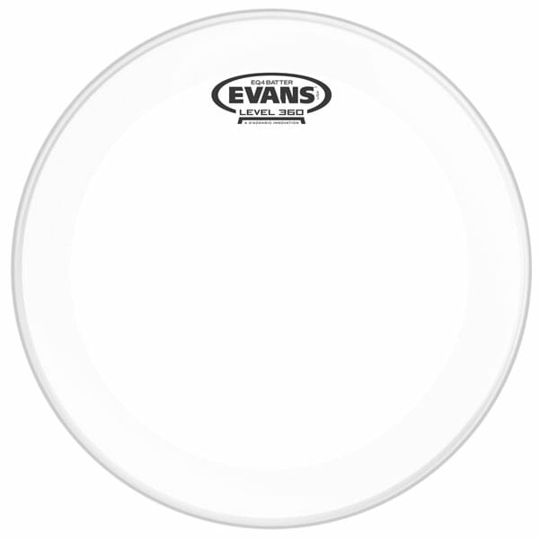 Evans EQ4 Clear 22 inch Bass Head-977