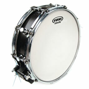 Evans Power Centre Reverse Dot 13 inch Snare Head-0
