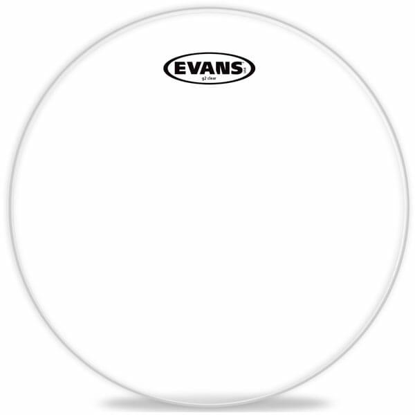 Evans G2 Clear 10 inch Tom Head-1857