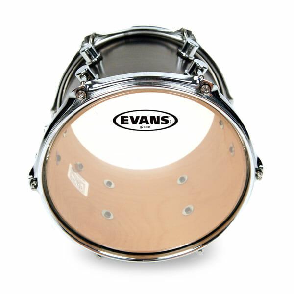 Evans G2 Clear 12 inch Tom Head-0