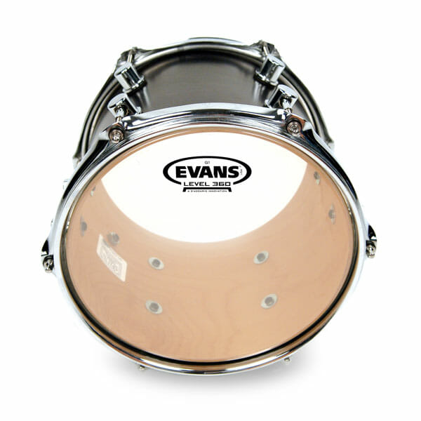 Evans G1 Clear 10 inch Tom Head-0