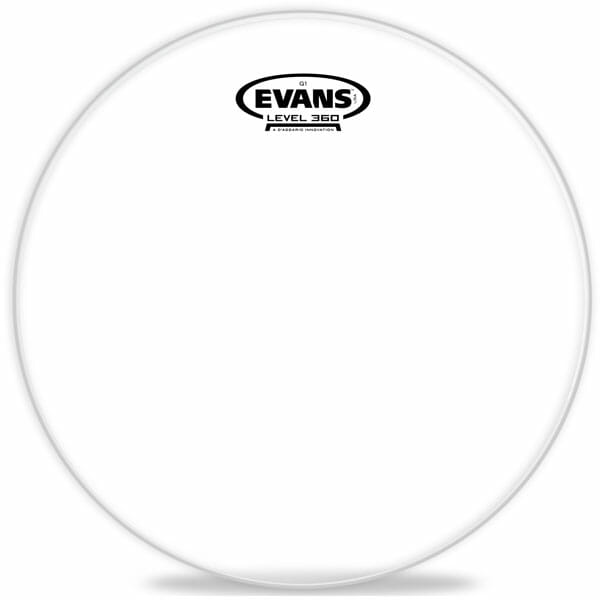 Evans G1 Clear 12 inch Tom Head-889