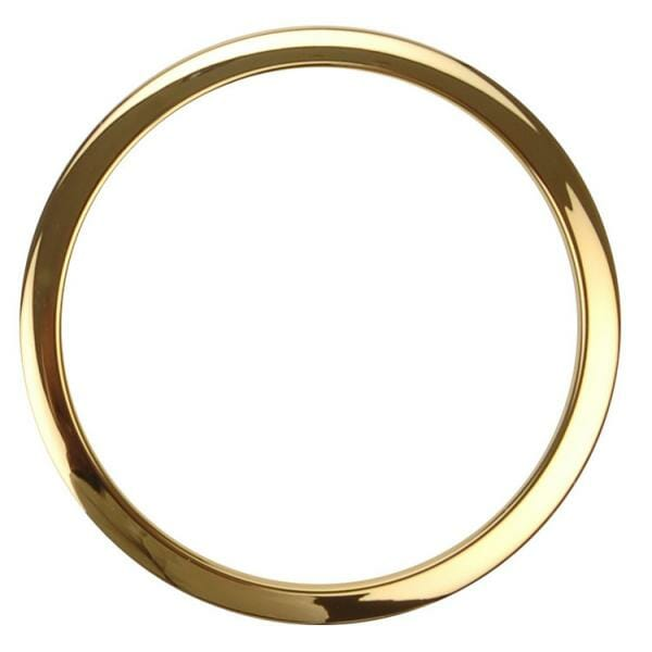 Bass Drum O's 4 inch Brass-0