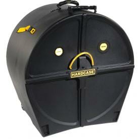 Hardcase Bass Drum Case 24 inch - With Wheels-0