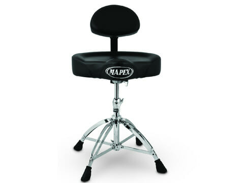 Mapex Cycle Seat Drum Throne with Backrest T-775-1594