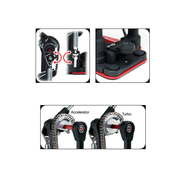 Drum Workshop 5002 Series Double Pedal DWCP5002AD3-669