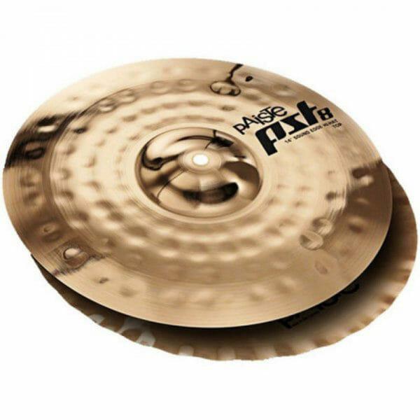 "Paiste PST8 14"" Reflector Sound Edge Hi-Hats Cymbals-0"