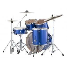 Pearl EXX725SBR/C717 Export Drum Kit with Sabian SBR Cymbal Pack (High Voltage Blue)-508