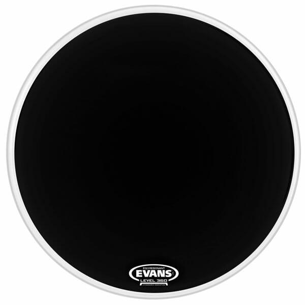 Evans EQ3 Black 18 inch Bass Head-1058