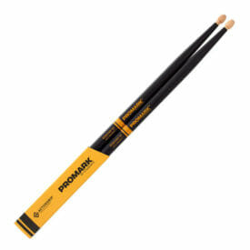 Promark Rebound 5A ActiveGrip Acorn Drum Sticks-0