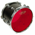 Evans 360 16″ Hydraulic Red Tom Drum Head-0