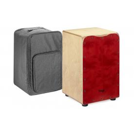 Stagg CAJ-50M RD - Red Cajon with free bag.-0
