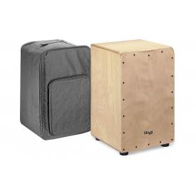 Stagg CAJ-50M N - Natural Cajon with free bag.-0