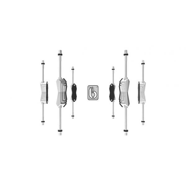 British Drum Co.-Lounge Club 22 3-Piece Shell Pack- Windermere Pearl-2320
