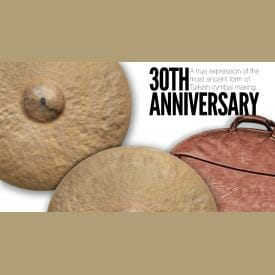 "Istanbul Agop 30th Anniversary - 22"" Ride Cymbal-2543"