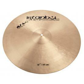 "Istanbul Agop Signature Serie - Mel Lewis 18"" Crash/ Ride Cymbal-0"