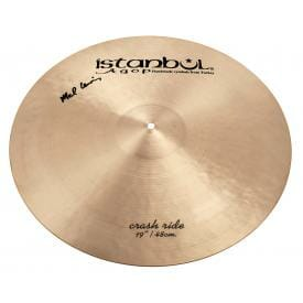 "Istanbul Agop Signature Series - Mel Lewis 19"" Crash/ Ride Cymbal-0"