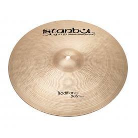 "Istanbul Agop Traditional Dark 19"" Crash Cymbal-0"