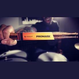 Promark FireGrain 5B Oval Tip Drum Sticks-2599