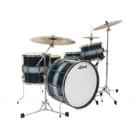 LUDWIG DRUM KIT blue silver duco