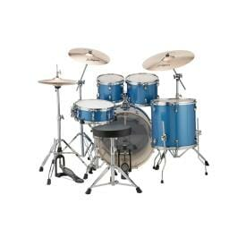 """LUDWIG 20"""" 5 Piece Evolution Outfit w/HW - Blue Sparkle"""