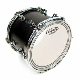 "Evans EC2 Frosted Drum Head 18"""