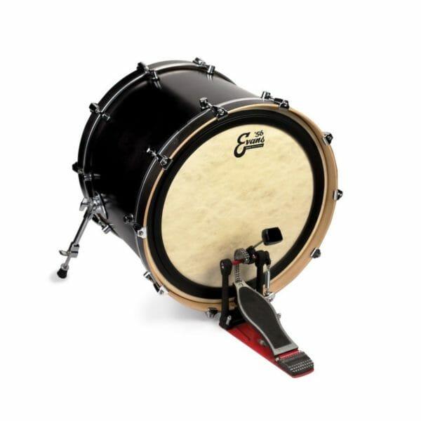 "Evans EMAD Calftone Bass Drum Head 22"""