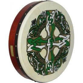 "Waltons 18"" Bodhran Celtic Cross"
