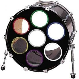 Bass Drum O's Purple 2 inch - 2 pack