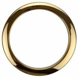 Bass Drum O's 2 inch Brass - 2 pack