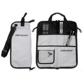 Ahead Armor Deluxe Stick Bag - grey with black Trim