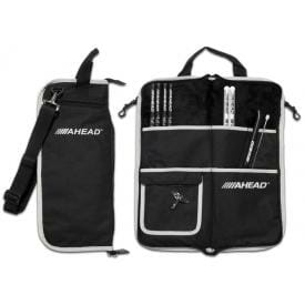 Ahead Armor Deluxe Stick Bag - Black with Grey Trim