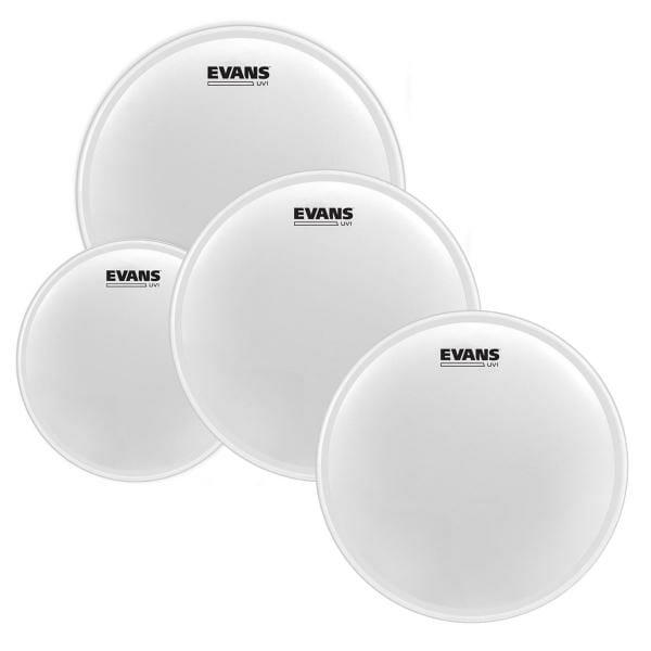 Evans UV1 Series Fusion Pack 12/13/16 plus UV1 14in Snare Batter