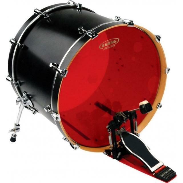 "Evans Hydraulic Red 20"" Bass Batter Head"
