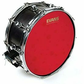 "Evans Hydraulic Red 14"" Coated Snare Batter Head"