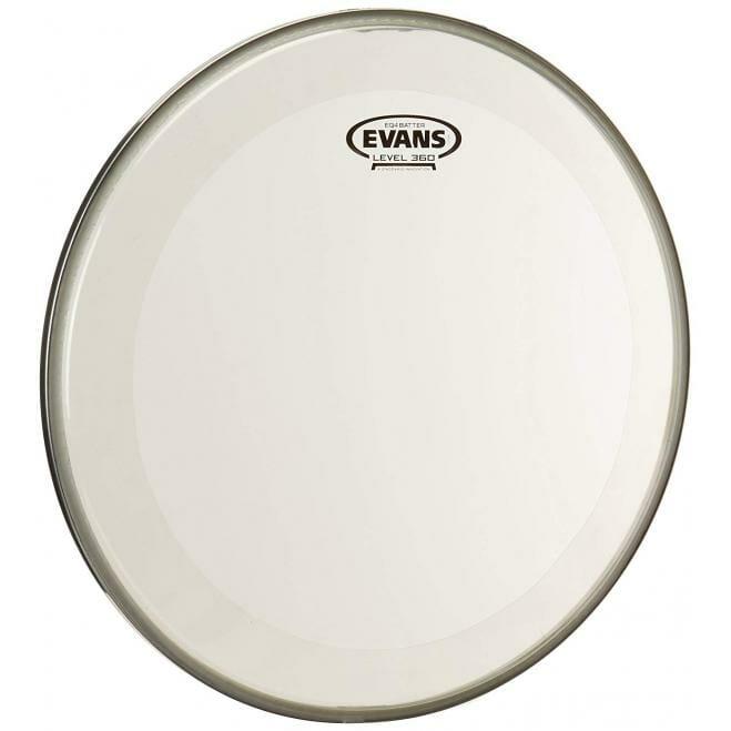 """Evans EQ4 Clear 16"""" Tom Hoop Drum Head"""